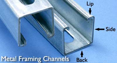 Metal Framing Channels